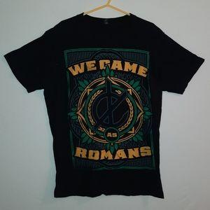We came as Romans Black Shirt